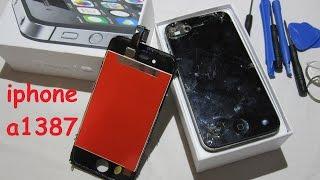 видео Ремонт Айфона 4s (iPhone 4s) в Екатеринбурге