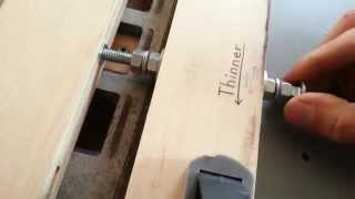 Cnc_2 Micro Adjustment Fence For Table Saw