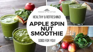 APPLE SPIN NUT SMOOTHIE - 1 Minute Video!