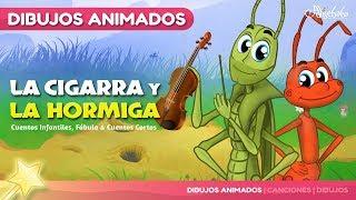 La Cigarra y la Hormiga Nuevo Animado en Español | Cuentos infantiles para dormir