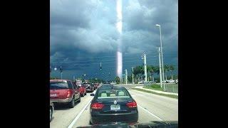 Strange Beam Of Light Appears In Florida?