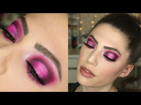 VALENTINE'S DAY MAKEUP TUTORIAL | Pink Halo Cut Crease Eyeshadow feat. Conspiracy Palette