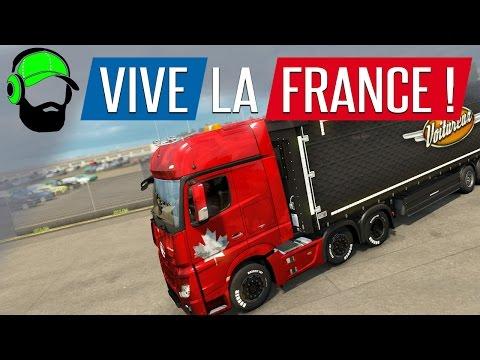 Euro Truck Simulator 2 - Vive La France DLC - Bonjour! |