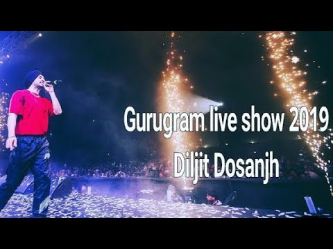 #Diljit Dosanjh live Show Gurgaon Video 2