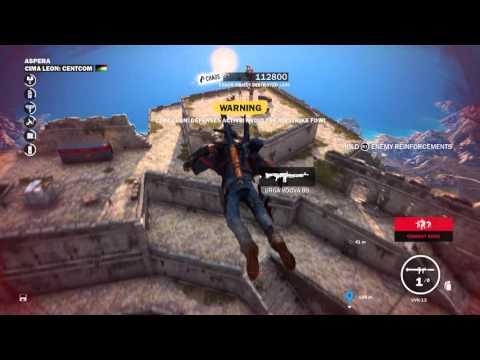 Just Cause 3 - Cima Leon Cent Com Liberated: Air Strikes, CS Comnet Unlocked, Rico Action Set Pieces