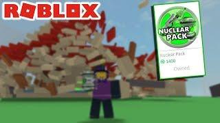 * NEU* DESTRUCTION SIMULATOR NUCLEAR PACK!!! (roblox)