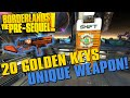 Borderlands The Pre Sequel Limited Edition Weapon SHiFT Code 20 Golden Key Codes