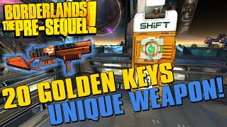 Borderlands The Pre-Sequel Limited Edition Weapon SHiFT Code + 20 Golden Key Codes!