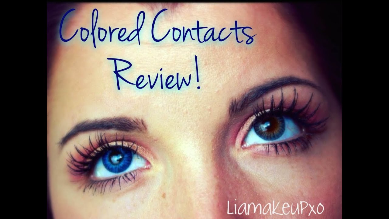 Air Optix Colored Contacts Review Youtube