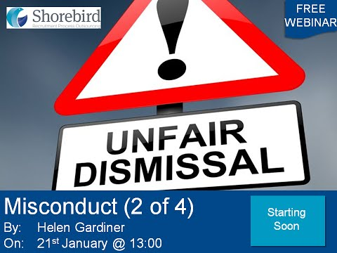 Unfair Dismissal   Misconduct 2 of 4