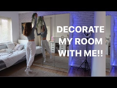 DECORATING MY ROOM!! Redo my room with me :)