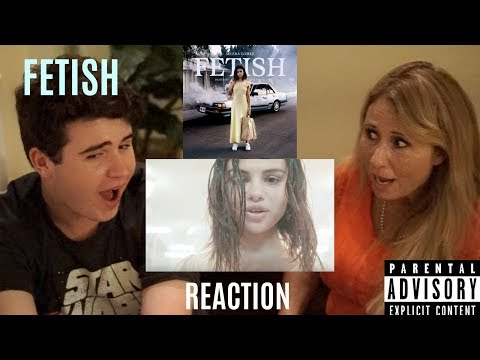 Selena Gomez (ft. Gucci Mane) - Fetish (Official Video) | REACTION w/ MY MOM