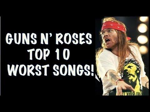 Guns N' Roses Top 10 Worst Songs!