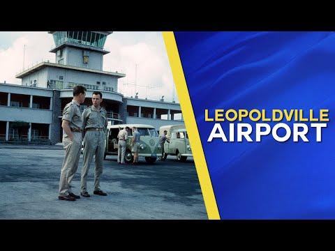 Greetings from International Airport Leopoldville, Belgian Congo