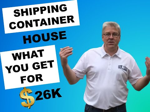 Single Shipping Container Home- Ready to Go For 26K