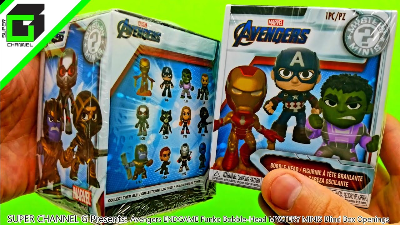 Funko mystery MINI Avengers Endgame Blind Box
