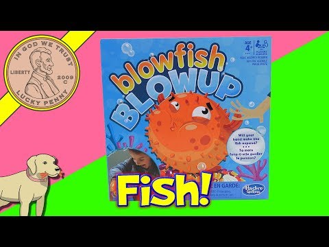 How To Play The Blowfish Blowup Family Game