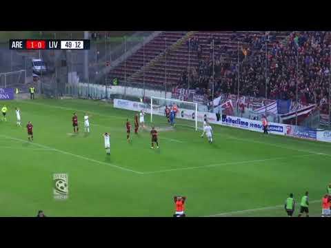 2017-18 / Serie C girone A / rec 27a gg / Arezzo-Livorno 1-0