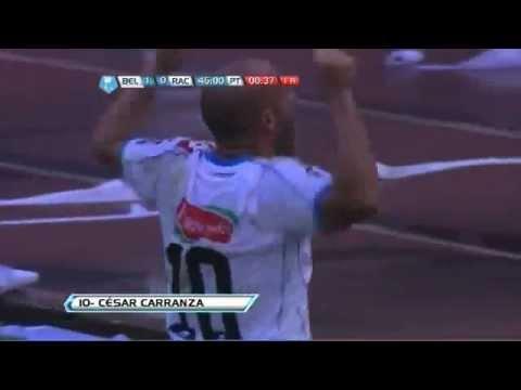 Belgrano le ganó a Racing en un partido vibrante