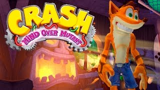 CRASH MIND OVER MUTANT #1 - GAMEPLAY DO INÍCIO