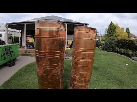 Scrap Copper Tank
