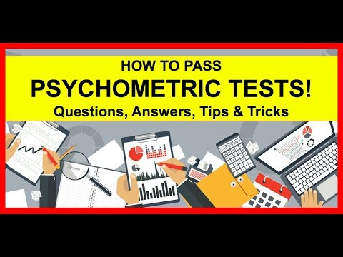 HOW TO PASS Psychometric Tests: Example Questions, Answers, Tips & Tricks!
