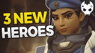 Overwatch 3 NEW HEROES THIS YEAR