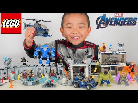 LEGO Avengers Endgame Epic Battle With Thanos CKN Toys