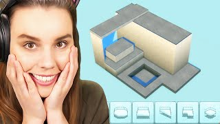 Building a PLATFORM SPLIT LEVEL home in The Sims 4!
