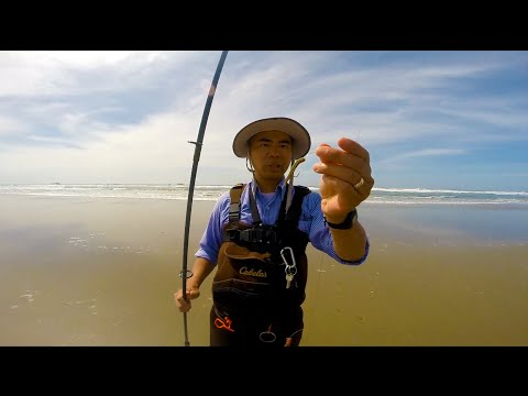 Oregon surf fishing 2016 11 17 for Fishing videos 2016