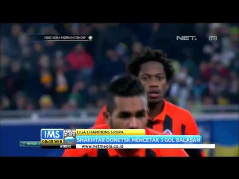 Laga Dramatis Shakhtar Donetsk vs Madrid - IMS