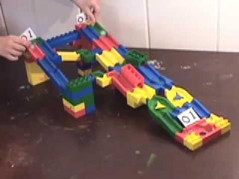 Logic gates using toys