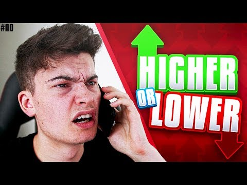 PRANKING STEPHEN TRIES - Higher or Lower