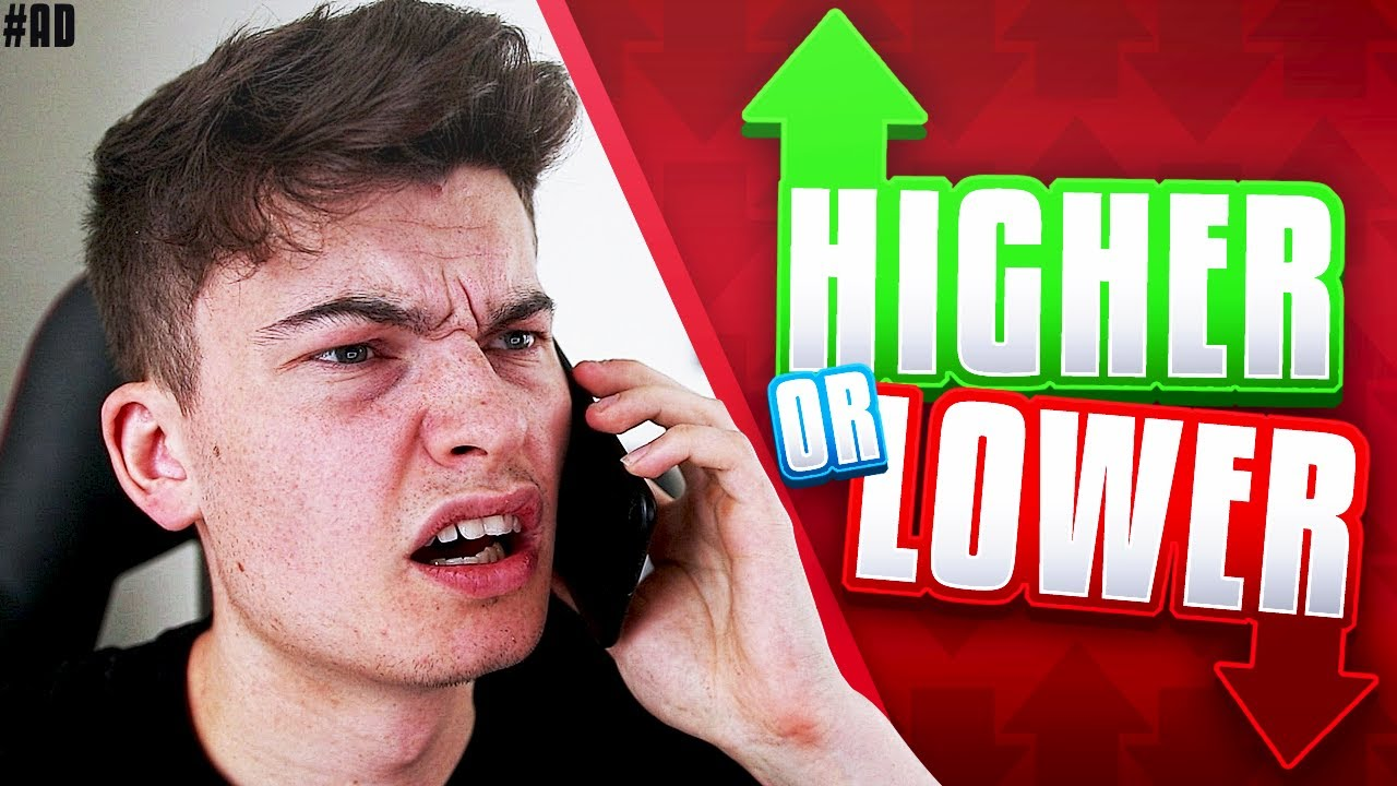 PRANKING STEPHEN TRIES - Higher or Lower - YouTube