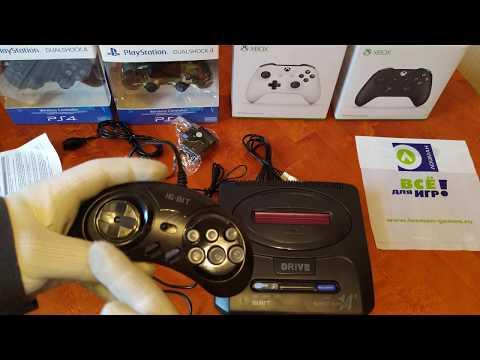 Сега (Sega) SUPER DRIVE 14 (160 игр) - игровая приставка | Lozmangames