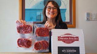 Unboxing Omaha Steaks 🥩