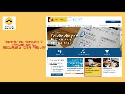 """Cómo rellenar el """"formulario de pre-solicitud de prestación individual por desempleo"""" from YouTube · Duration:  3 minutes"""