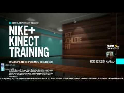 Empezamos a hacer ejercicios con el Nike+ Kinect Training - Configurando