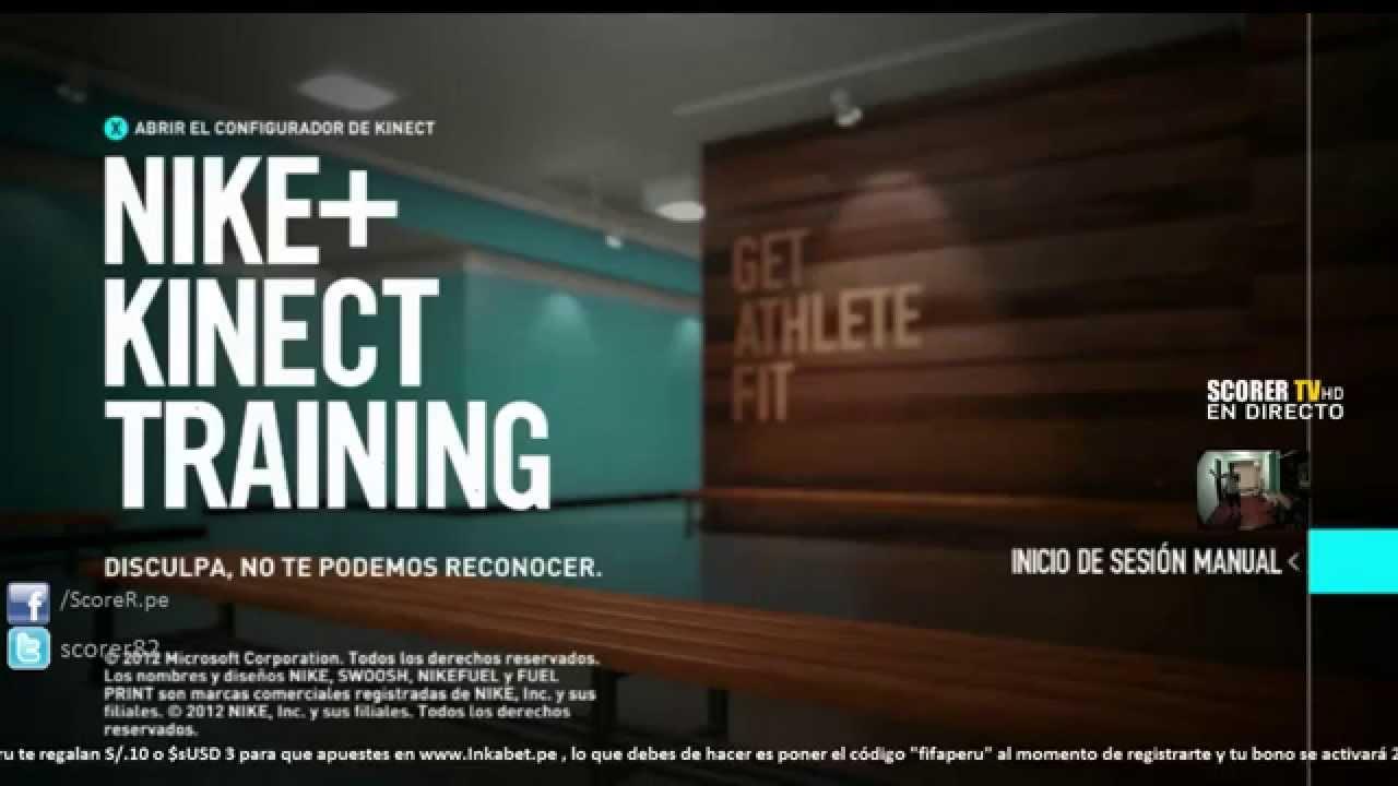 Empezamos A Hacer Ejercicios Con El Nike Kinect Training