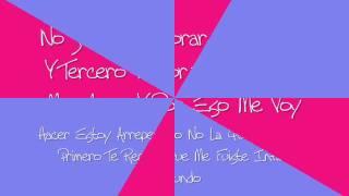 Xtreme - No Me Digas Que No Lyrics/Letra
