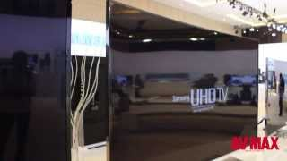 Samsung Forum 2014 Samsung 78 inch Curved UHD TV