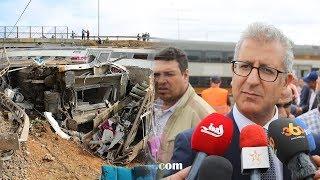 """عاجل.. المدير العام لـ """" oncf """" يتحدث عن فاجعة قطار بوقنادل"""