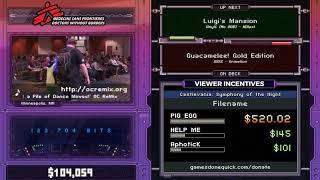 Luigi's Mansion by HDlax1 in 0:58:16 - SGDQ2017 - Part 6