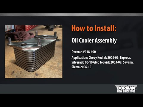 Engine Oil Cooler Installation Video by Dorman Products