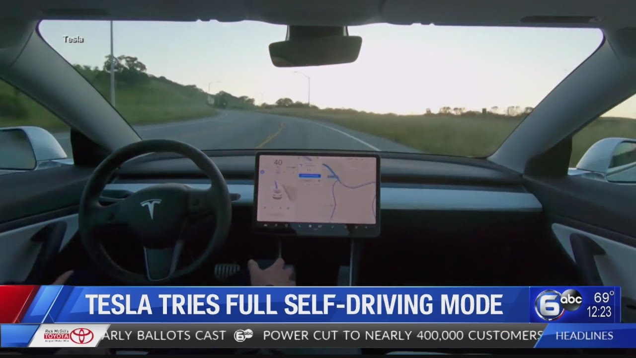 Tesla 'full self-driving' vehicles can't drive themselves ...