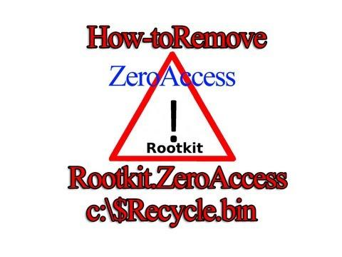 Remove Rootkit.ZeroAccess C:\$recycle.bin A BackDoor Trojan By Britec