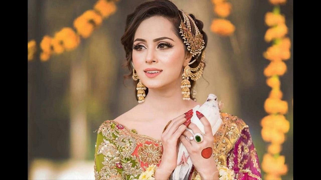 Beautiful  Bridal Dresses For Mehandi part 1