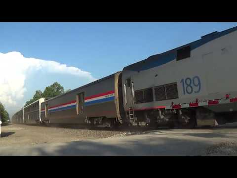 Thumbnail: Horn Salute and Wave from Amtrak #5 Without Dorm Car