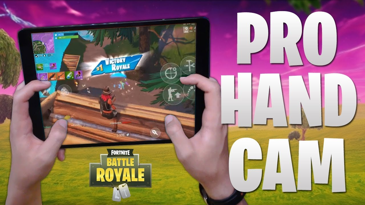 PRO FORTNITE MOBILE PLAYER HANDCAM! (4 Finger Claw ...