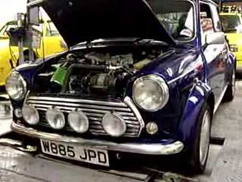 classic mini cooper supercharged rolling road youtube. Black Bedroom Furniture Sets. Home Design Ideas
